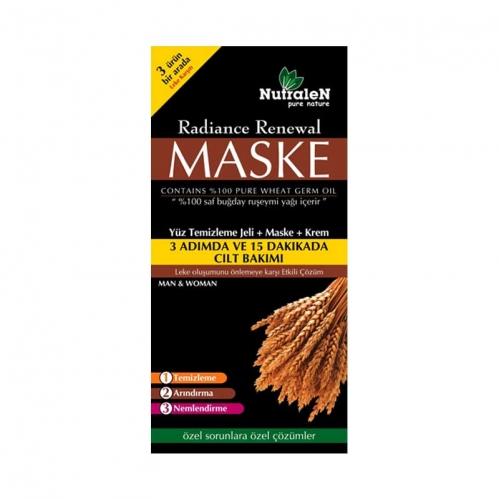Nutralen - Nutralen Radiance Renewal Yüz Temizleme Jeli + Maske + Krem