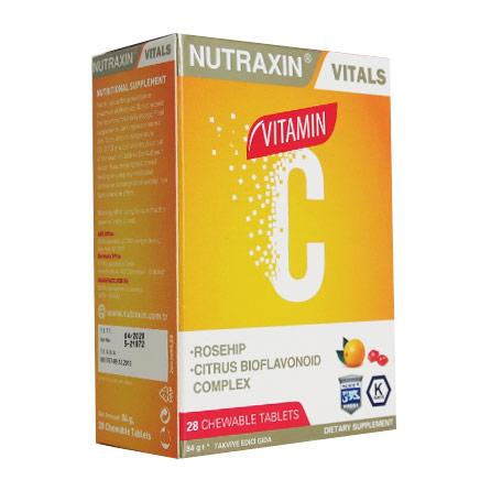 Nutraxin Ürünleri - Nutraxin C Vitamini 28 Tablet