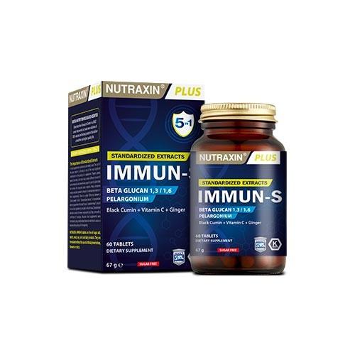 Nutraxin Ürünleri - Nutraxin Immun-S 60 Tablet