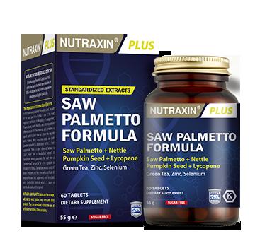 Nutraxin Ürünleri - Nutraxin Plus Saw Palmetto Formula 60 Tablet