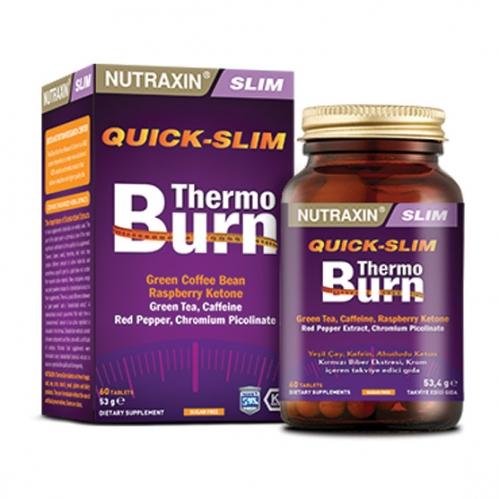 Nutraxin Ürünleri - Nutraxin Quick-Slim Thermo Burn 60 Tablet