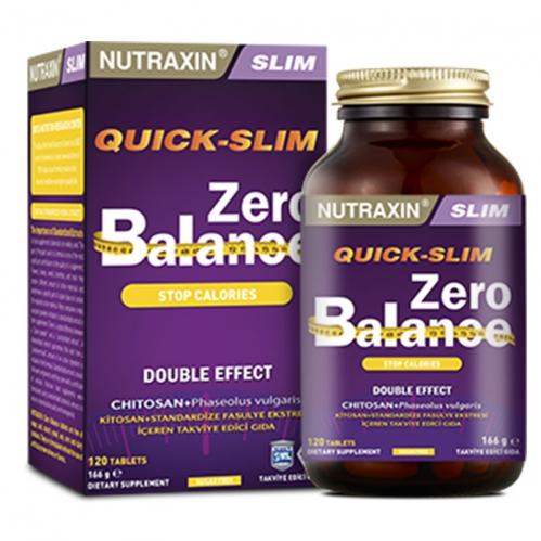 Nutraxin Ürünleri - Nutraxin Zero Balance 120 Tablet