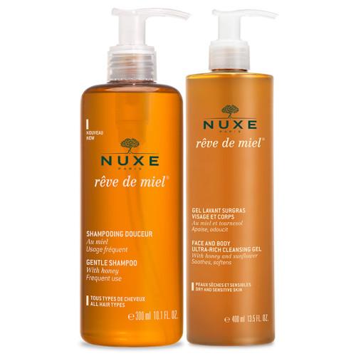 Nuxe Ürünleri - Nuxe Bal Rüyası Banyo Seti