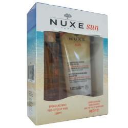 Nuxe Ürünleri - Nuxe Bronzlaştırıcı Yüz ve Vücut Yağı Spf10 150ml + Güneş Sonrası Nemlendirici Şampuan Hediye
