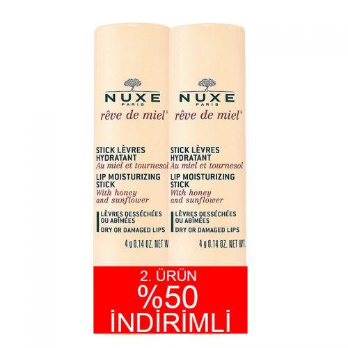 Nuxe Reve De Miel Stick Levres 2x4gr 2.Ürün %50 İNDİRİMLİ