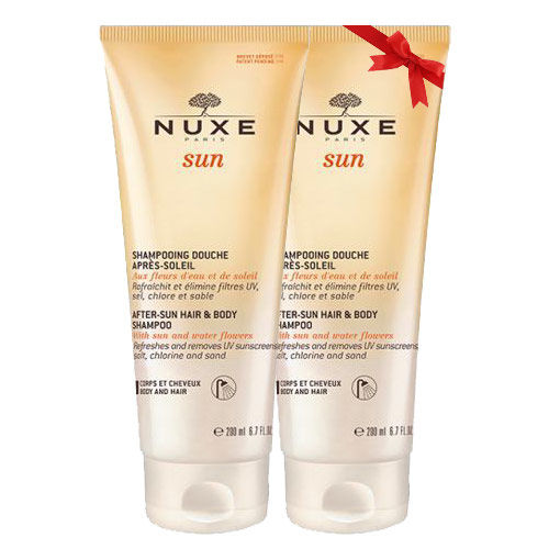 Nuxe Sun After Sun Hair Body Shampoo 200ml - İkincisi %50 İndirimli