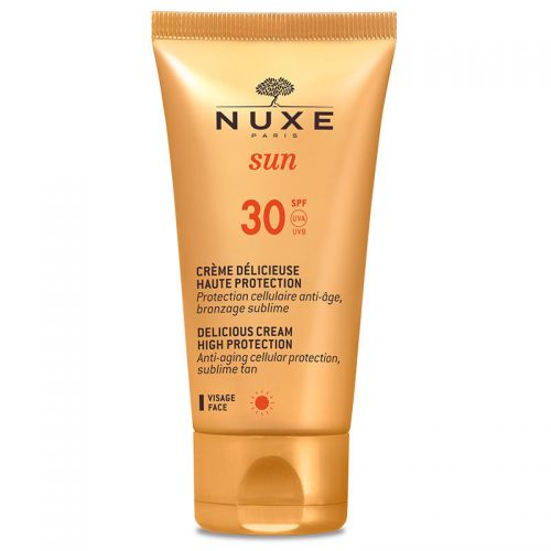 Nuxe Sun Creme Delicieuse Visage Haute Protection Spf30 50ml