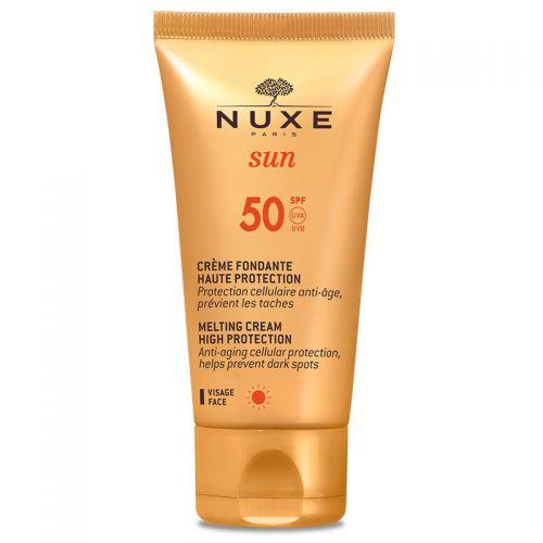 Nuxe Sun Creme Fondante Visage Haute Protection Spf50 50ml