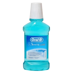 Oral B 3D White Luxe Gargara 250 ml