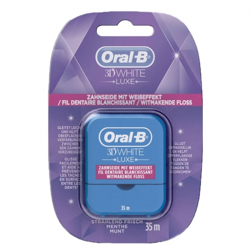 Oral-b - Oral-B 3D White Luxe Whitening Dental Floss 35m