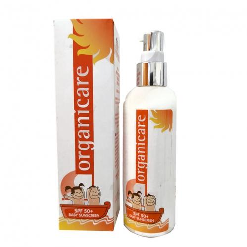 Organicum - Organicare Baby Sunscreen Bebek ve Çocuk Koruyucu Güneş Losyonu 125ml
