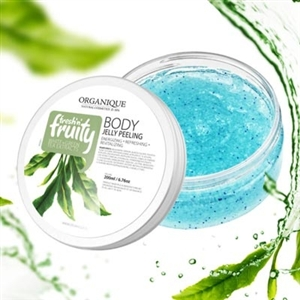 Organique Fresh Fruity White Green Tea Body Jelly Peeling 200ml