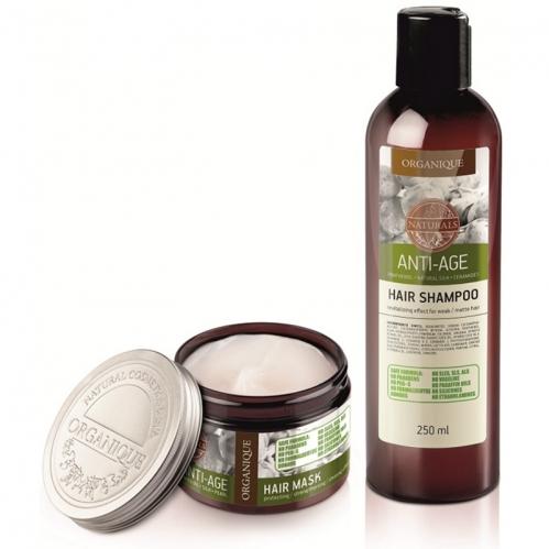 Organique - Organique Kuru Saçlar için Anti Age Saç Bakım Seti