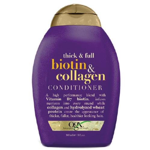 Organix Saç Bakım ürünleri - Organix Biotin&Collagen Full Dolgunlaştırıcı ve Uzatıcı Bakım Kremi 385ml