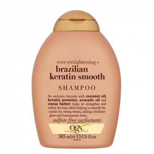 Organix Saç Bakım ürünleri - Organix Brazilian Keratin Düz Saçlar için Şampuan 385ml