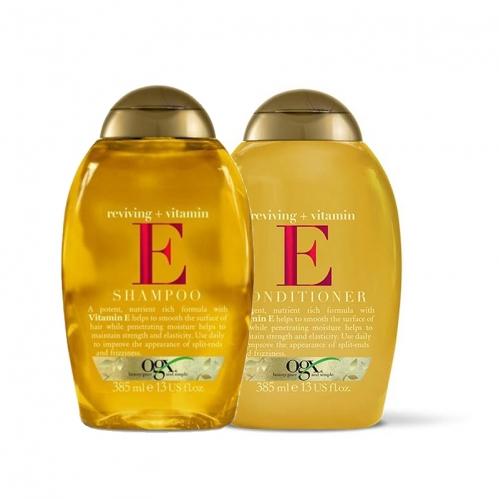 Organix Saç Bakım ürünleri - Organix E Vitamini Saç Bakım SETİ