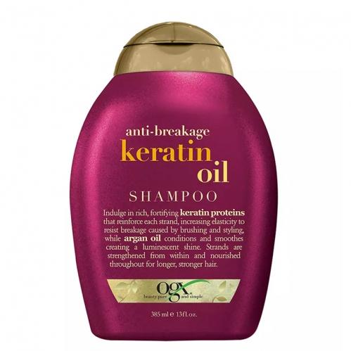 Organix Saç Bakım ürünleri - Organix Keratin Oil Kırılma Karşıtı Şampuan 385ml