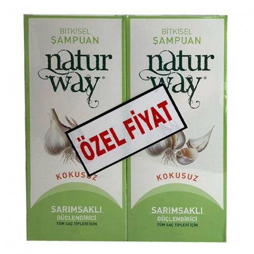 Otacı - Otacı Naturway Sarımsaklı Güçlendirici Şampuan İkili