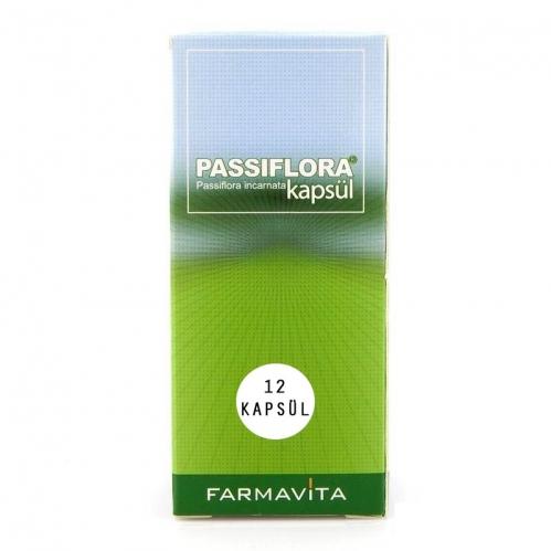 Farmavita İlaç - Passiflora 12 Kapsül Takviye Edici Gıda