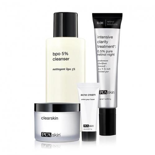 PCA Skin Ürünleri - PCA Skin The Acne Control Regimen SET