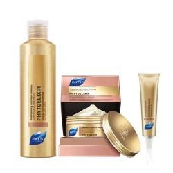 Phyto Saç Bakım - Phyto Phytoelixir Şampuan 200ml + Phytoelixir Maske 200ml + Phytoelixir Cleansing Care Cream 30ml HEDİYE