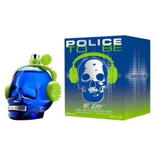 Police - Police To Be Mr Beat Man Edt Nat Spray 125ml