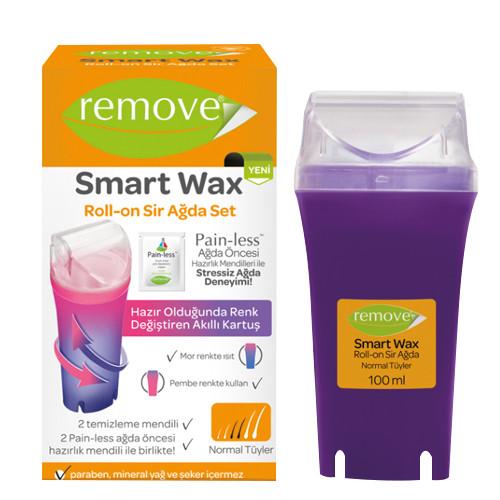 Remove Ürünleri - Remove Smart Wax Roll On Sir Ağda Seti Normal Tüyler