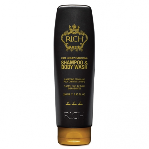 Rich Hair Care - Rich Pure Luxury Energising Shampoo & Body Wash 250ml