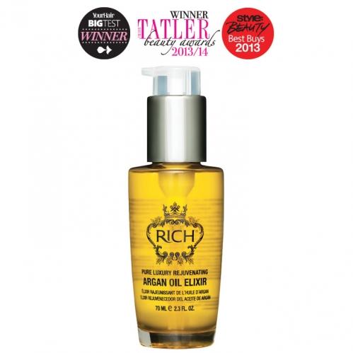 Rich Hair Care - Rich Pure Luxury Rejuvenating Argan Oil Elixir 70ml