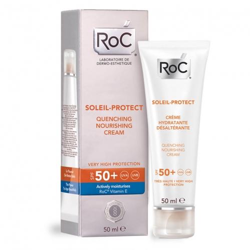 Roc Ürünleri - ROC Soleil Protect Yatıştırıcı SPF50 Besleyici Krem 50 ml