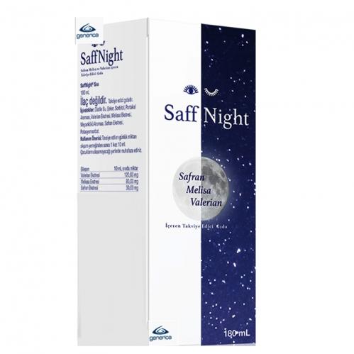 Generica - Saff Night Sıvı Takviye Edici Gıda 180ml