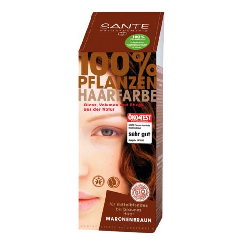 Sante - Sante Bitkisel Toz Saç Boyası Kestane Rengi 100gr