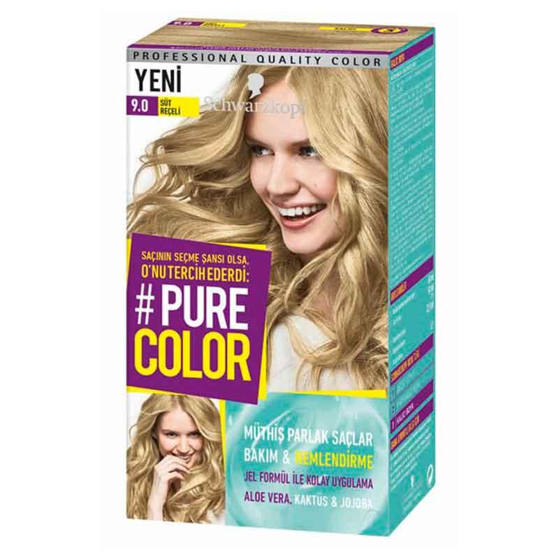 Schwarzkopf Pure Color Sac Boyasi 9 0 Sut Receli Dermoeczanem Com