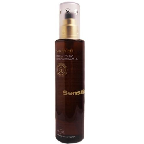 Sensilis - Sensilis Sun Secret Protective Tan Enhancer Body Oil Spf30+ 200mL