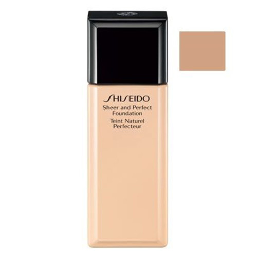 Shiseido - Shiseido SMK Sheer and Perfect Foundation I60 - Fondöten