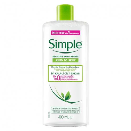 Simple - Simple Micellar Makyaj Temizleme Suyu 400 ml