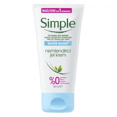 Simple - Simple Water Boost Nemlendirici Jel Krem 50 ml