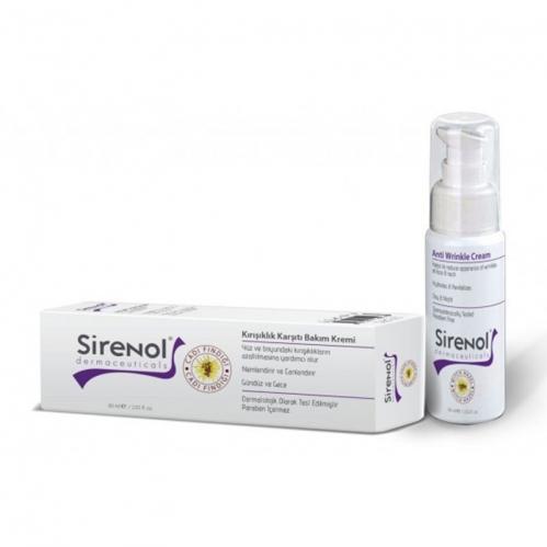 Sirenol - Sirenol Kırışıklık Karşıtı Bakım Kremi 60 ML