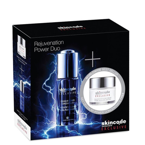 Skincode - Skincode Rejuvenation Power Duo Cilt Bakım SETİ