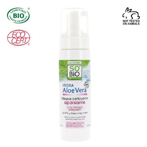 So Bio Etic - So Bio Etic Organik Aloe Vera Yüz Temizleme Köpüğü 150 ml