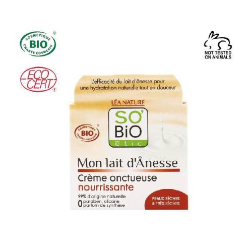So Bio Etic - So Bio Etic Organik Eşek Sütü Besleyici Bakım Kremi 50 ml