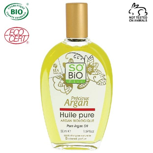 So Bio Etic - So Bio Etic Organik Soğuk Sıkım Saf Argan Yağı 50 ml