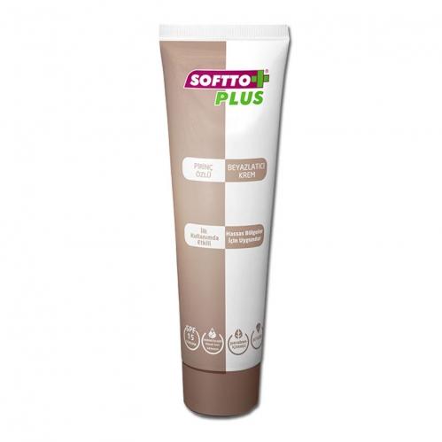 Softto Ürünleri - Softto Plus Beyazlatıcı Bitkisel Krem