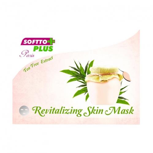 Softto Ürünleri - Softto Plus Çay Ağacı Özlü Cilt Maskesi 25 ml