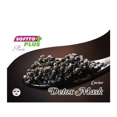 Softto Ürünleri - Softto Plus Havyar Özlü Detoks Cilt Maskesi 25 ML
