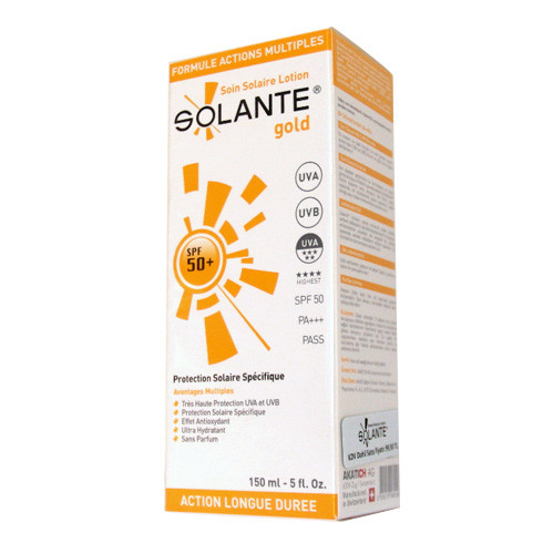 Solante Güneş Ürünleri - Solante Gold Spf50+ Güneş Koruyucu Losyon 150ml