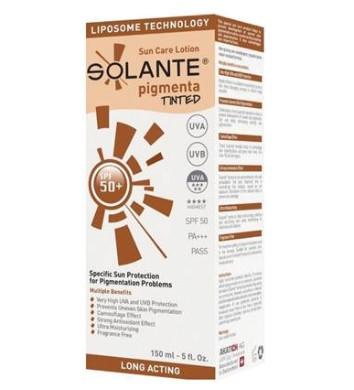 Solante Güneş Ürünleri - Solante Pigmenta Tinted Lotion Spf 50+ 150ml