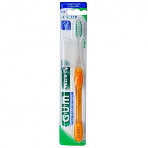 Sunstar GUM - SunStar Gum Micro Tip Compact Medium Diş Fırçası 473