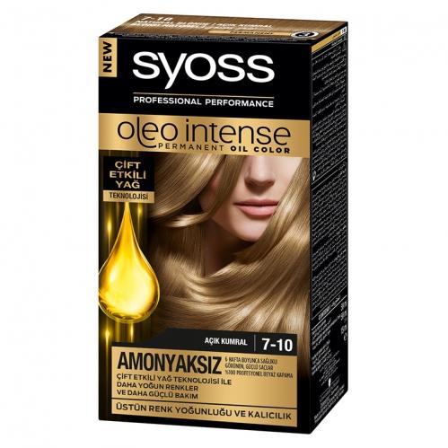 Syoss - Syoss Oleo Intense Saç Boyası 7-10 Açık Kumral 50 ml