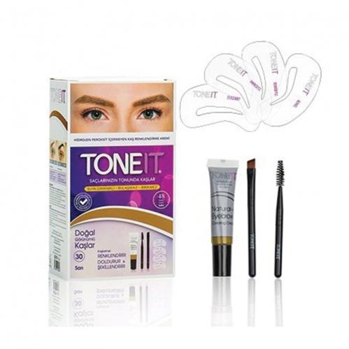 Toneit - TONEIT Kaş Renklendirici Krem - Sarı 9 ml